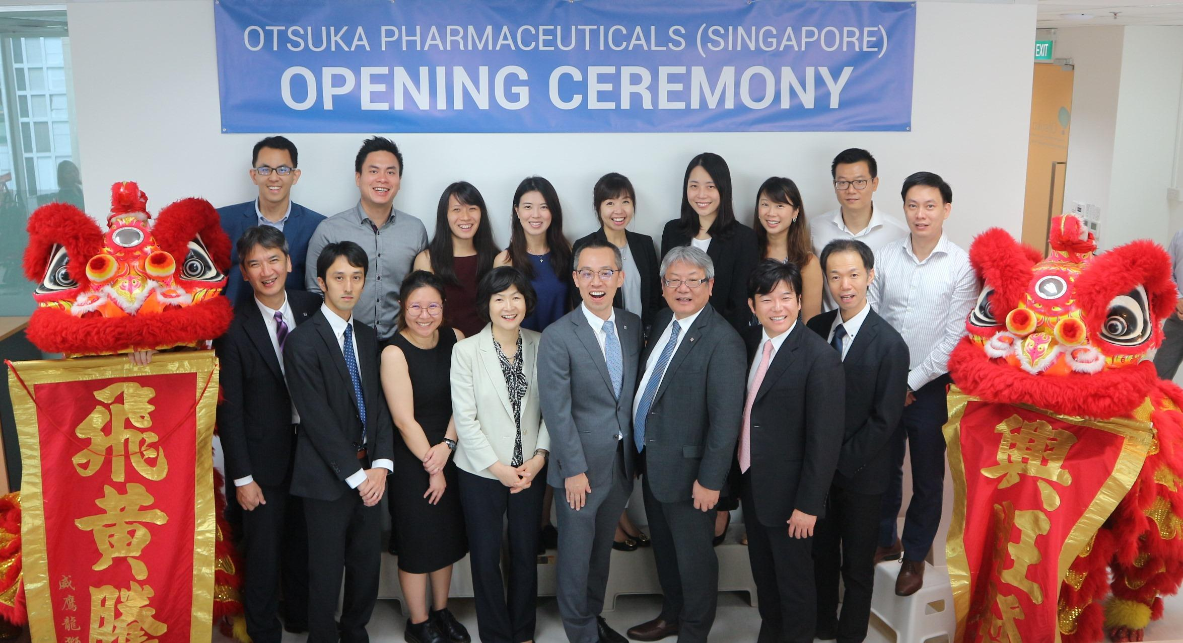 Otsuka Pharmaceutical Establishes Subsidiary in Singapore