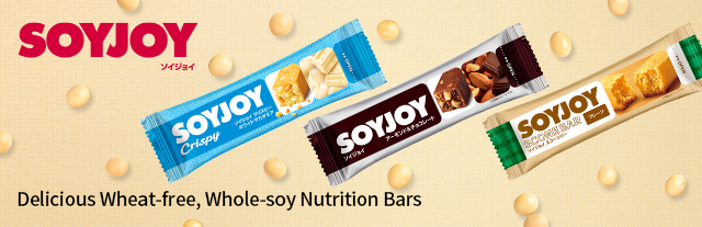 Delicious Wheat-free, Whole-soy Nutrition Bars