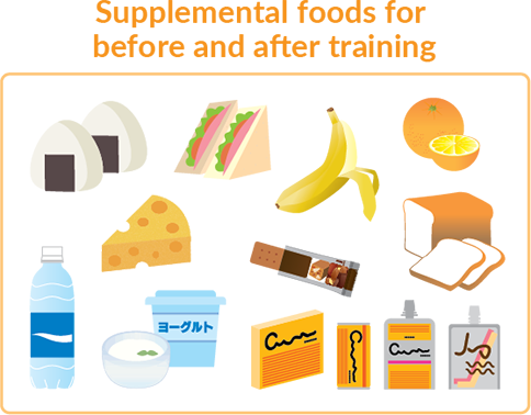 Supplemental foods for 